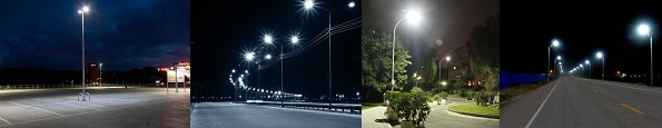 banner led straatverlichting