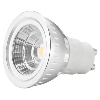LED GU10 spot - 5W - Dimbaar op kleur (2000-3000K) - zilver