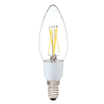 Led E14 - Filament kaarslamp - 3,5W 2700K