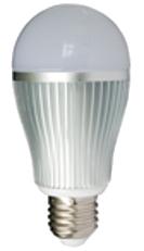 Led E27 lamp, RGB 6W