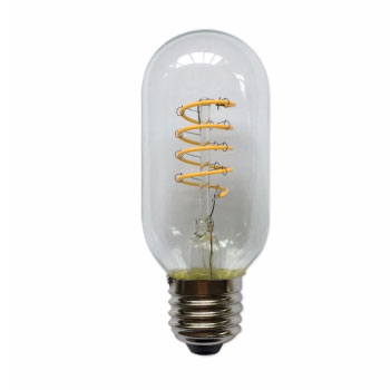 LED E27-T45 Filament 4W - 2700K - Curved