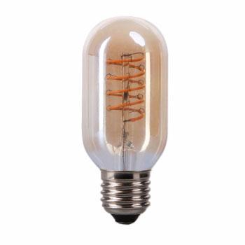 LED E27-T45 Filament 4 Watt - 2700K - Curved - Amber
