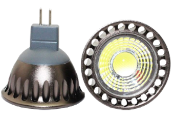 Led GU5.3/MR16 spot 4W COB 3000K