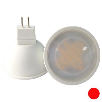 LED GU5.3 Spot 3 Watt Rood 10 30V 220 Lm