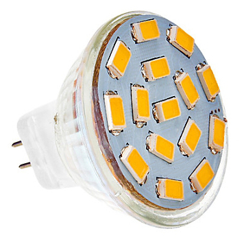 Led G4 MR11 spot 3W 3000K - vervangt 35W