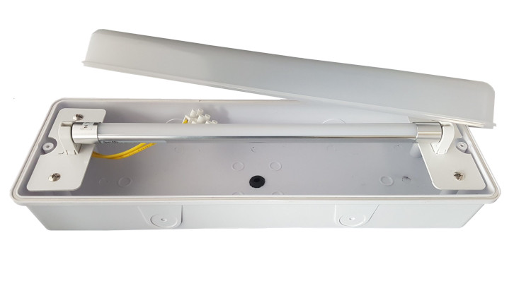 LED Portiek / Galerij Opbouw - verwisselbare buis - 4W - 400Lm - IP65