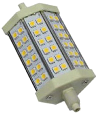 Led lamp R7s 5W dimbaar