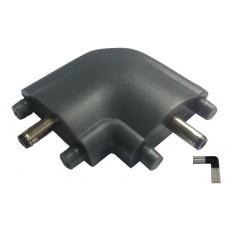 Hoekconnector voor ledbars