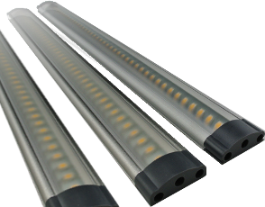 Complete set 3 x 3W touch bar 9,5-30V 300 mm