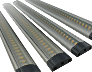 Complete set 4 x 3W touch bar 9,5-30V 300 mm
