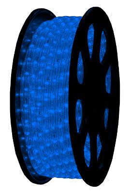 LED Lichtslang 230V Blauw 2,5W m IP44 ر3mm