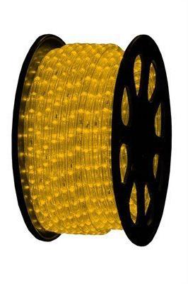 LED Lichtslang 230V - Geel - 2,5W/m - IP44 - Ø13mm