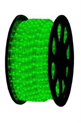 LED Lichtslang 230V - Groen - 2,5W/m - IP44 - Ø13mm