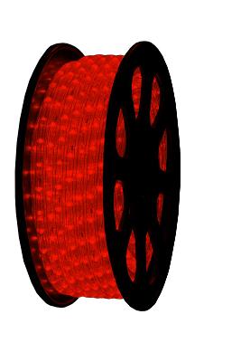 LED Lichtslang 230V - Rood - 2,5W/m - IP44 - 13mm diameter