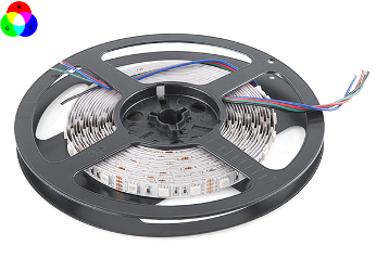 LED Strip 12 Volt RGB 5 meter Dimbaar IP65