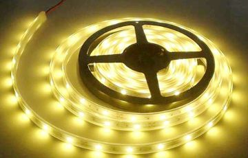 LED Strip DC24 Volt Warm Wit 5 meter SMD5050 7,2W m Dimbaar
