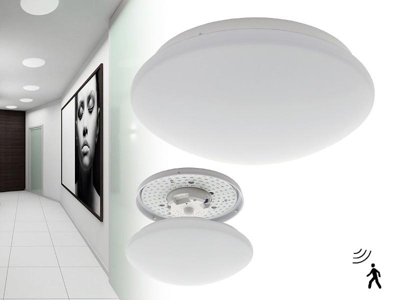 Led plafondlamp met bewegingssensor 10W 4000k IP40 580 Lm