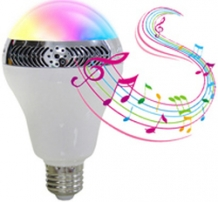 LED E27 - Bulb 10W RGB/WW Bluetooth Speaker