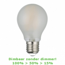 LED E27-A60 Filament - Zelf dimmend!