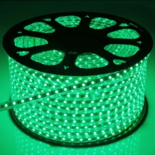LED Strip 230 Volt Groen IP66