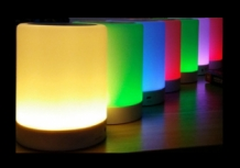 Bluetooth RGB speaker met lamp in vele kleuren